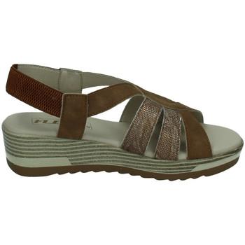 Sapatos Mulher Sandálias Flex Pies  Castanho