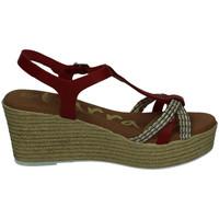 Sapatos Mulher Sandálias Karralli  Vermelho
