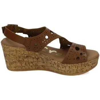 Sapatos Mulher Sandálias Karralli  Castanho