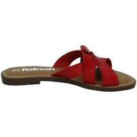 Sapatos Mulher Chinelos Refresh  Vermelho