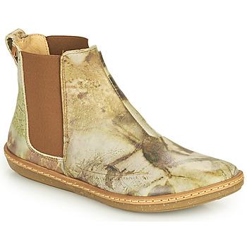 Sapatos Mulher Botas baixas El Naturalista CORAL Cinza