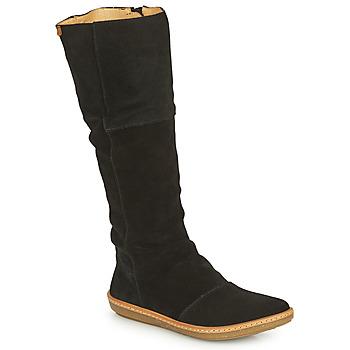 Sapatos Mulher Botas El Naturalista CORAL Preto