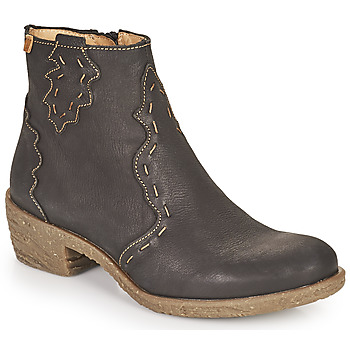 Sapatos Mulher Botins El Naturalista QUERA Preto