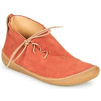 Sapatos Mulher Botas baixas El Naturalista PAWIKAN Vermelho