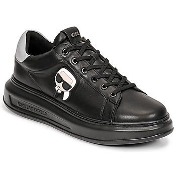 Sapatos Homem Sapatilhas Karl Lagerfeld KAPRI MENS KARL IKONIC 3D LACE Preto