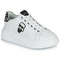 Sapatos Mulher Sapatilhas Karl Lagerfeld KAPRI KARL IKONIC STUD TAB Branco