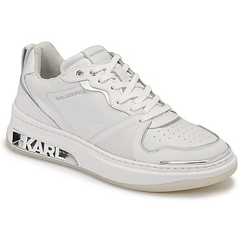 Sapatos Mulher Sapatilhas Karl Lagerfeld ELEKTRA LAY UP LO Branco