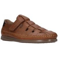 Sapatos Homem Sandálias Dj Santa 2977 Hombre Cuero marron