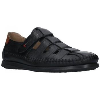 Sapatos Homem Sandálias Dj Santa 2977 Hombre Negro noir