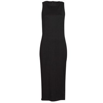 Textil Mulher Vestidos curtos Karl Lagerfeld KITTED WRAP DRESS Preto