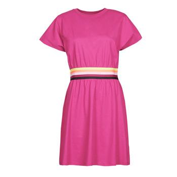 Textil Mulher Vestidos curtos Karl Lagerfeld LOGO TAPE JERSEY DRESS Rosa