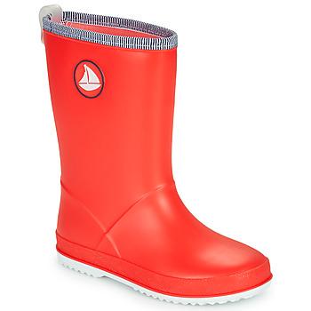Sapatos Criança Botas de borracha Be Only CORVETTE Vermelho