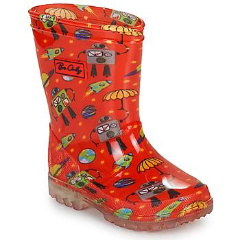 Sapatos Rapaz Botas de borracha Be Only CYBORG Vermelho