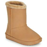 Sapatos Rapariga Botas de borracha Be Only COSY Bege