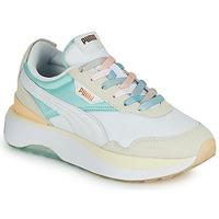 Sapatos Mulher Sapatilhas Puma CRUISE RIDER Branco / Multicolor