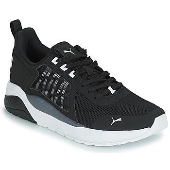 Sapatos Rapaz Sapatilhas Puma ANZARUN JR Preto / Branco
