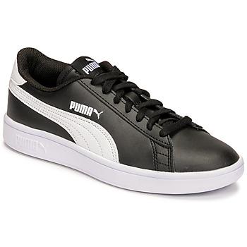 Sapatos Criança Sapatilhas Puma SMASH JR Preto