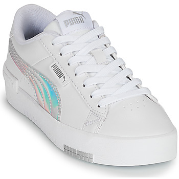 Sapatos Rapariga Sapatilhas Puma JADA RAINBOW JR Branco / Multicolor