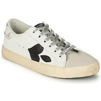 Sapatos Mulher Sapatilhas Le Temps des Cerises AUSTIN Branco / Preto