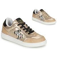 Sapatos Mulher Sapatilhas Le Temps des Cerises FLASH Ouro