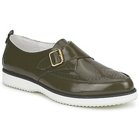 Sapatos Mulher Mocassins McQ Alexander McQueen 308658 Verde