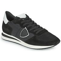 Sapatos Homem Sapatilhas Philippe Model TRPX LOW BASIC Preto