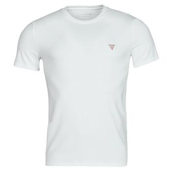 Textil Homem T-Shirt mangas curtas Guess CN SS CORE TEE Branco