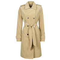 Textil Mulher Trench Guess SUSAN TRENCH Bege