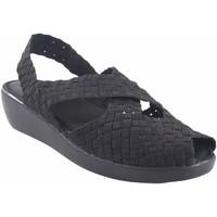 Sapatos Mulher Sandálias Vicmart senhora  140 preta Prata