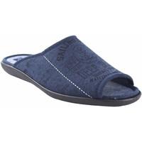Sapatos Homem Chinelos Ne Les Ir por casa caballero NELES n3-37742 azul Azul