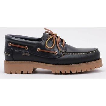 Sapatos Homem Sapato de vela CallagHan  Azul