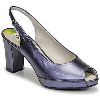 Sapatos Mulher Escarpim Dorking MODALIA Marinho