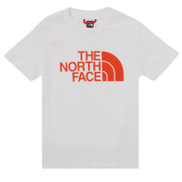 Textil Rapaz T-Shirt mangas curtas The North Face EASY TEE SS Branco