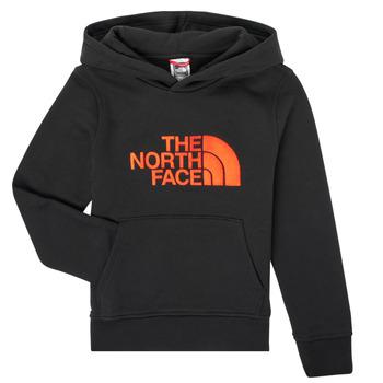 Textil Rapaz Sweats The North Face DREW PEAK HOODIE Preto