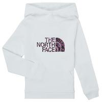 Textil Rapariga Sweats The North Face DREW PEAK HOODIE Branco