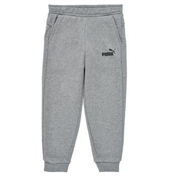 Textil Rapaz Calças de treino Puma ESSENTIAL SLIM PANT Cinza