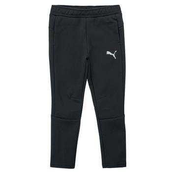 Textil Rapaz Calças de treino Puma EVOSTRIPE PANT Preto