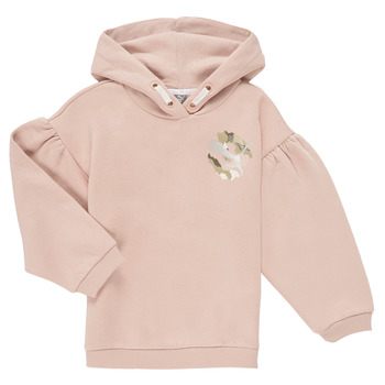 Textil Rapariga Sweats Puma ALPHA HOODIE Rosa