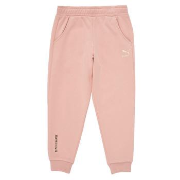 Textil Rapariga Calças de treino Puma T4C SWEATPANT Rosa