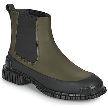 Sapatos Mulher Botas baixas Camper PIX Cáqui / Preto