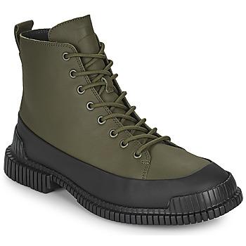 Sapatos Homem Botas baixas Camper PIX Preto / Cáqui