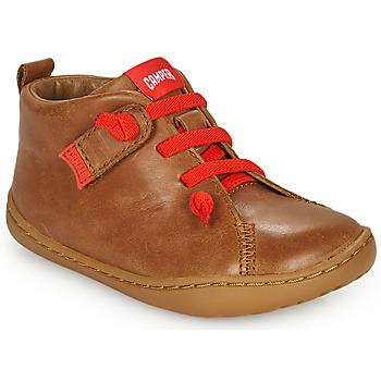 Sapatos Criança Sapatos Camper PEU CAMI Castanho