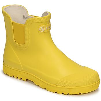 Sapatos Criança Botas de borracha Aigle CHELSEA 2 Amarelo