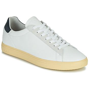 Sapatos Homem Sapatilhas Clae BRADLEY CALIFORNIA Branco / Azul
