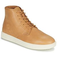 Sapatos Homem Sapatilhas de cano-alto Clae GIBSON Castanho