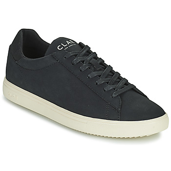 Sapatos Homem Sapatilhas Clae BRADLEY VEGAN Preto / Branco