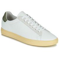 Sapatos Homem Sapatilhas Clae BRADLEY CALIFORNIA Branco / Verde