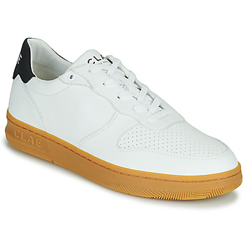 Sapatos Homem Sapatilhas Clae MALONE VEGAN Branco / Azul