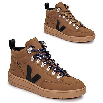 Sapatos Sapatilhas de cano-alto Veja RORAIMA Camel / Preto
