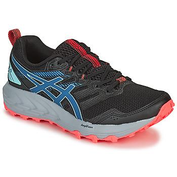 Sapatos Mulher Sapatilhas de corrida Asics GEL-SONOMA 6 Preto / Azul / Rosa